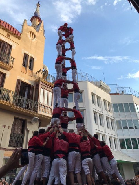 Spain-Barcelona-castellers-competition