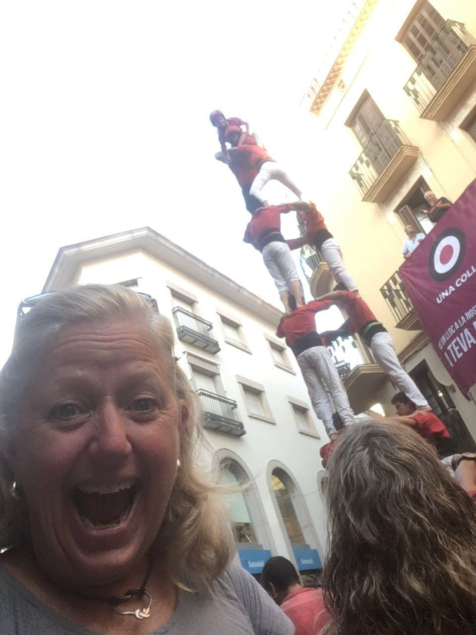 Spain-castellers-Melanie-CEO-Rare-Finds-Travel