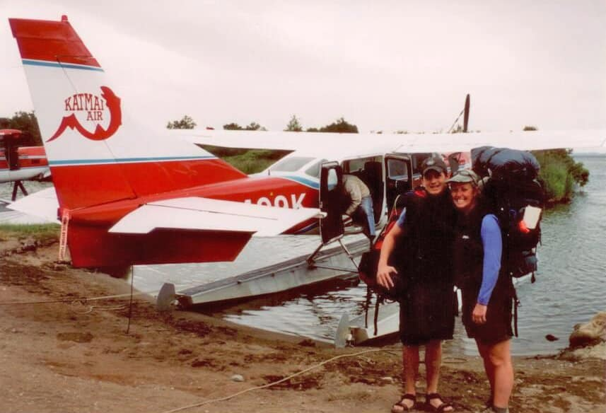 melanie-ceo-rare-finds-travel-with-son-on-floatplane