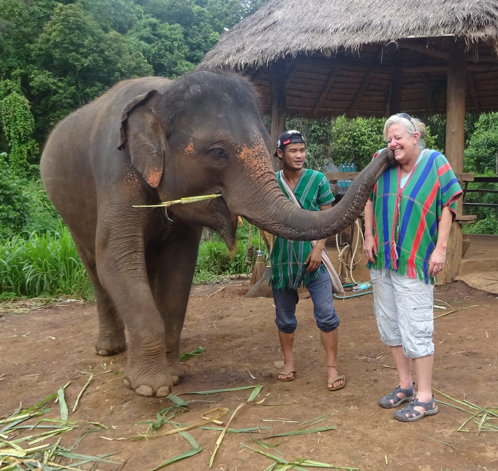 Thailand-elephant-kiss-Melanie-CEO-Rare-Finds-Travel