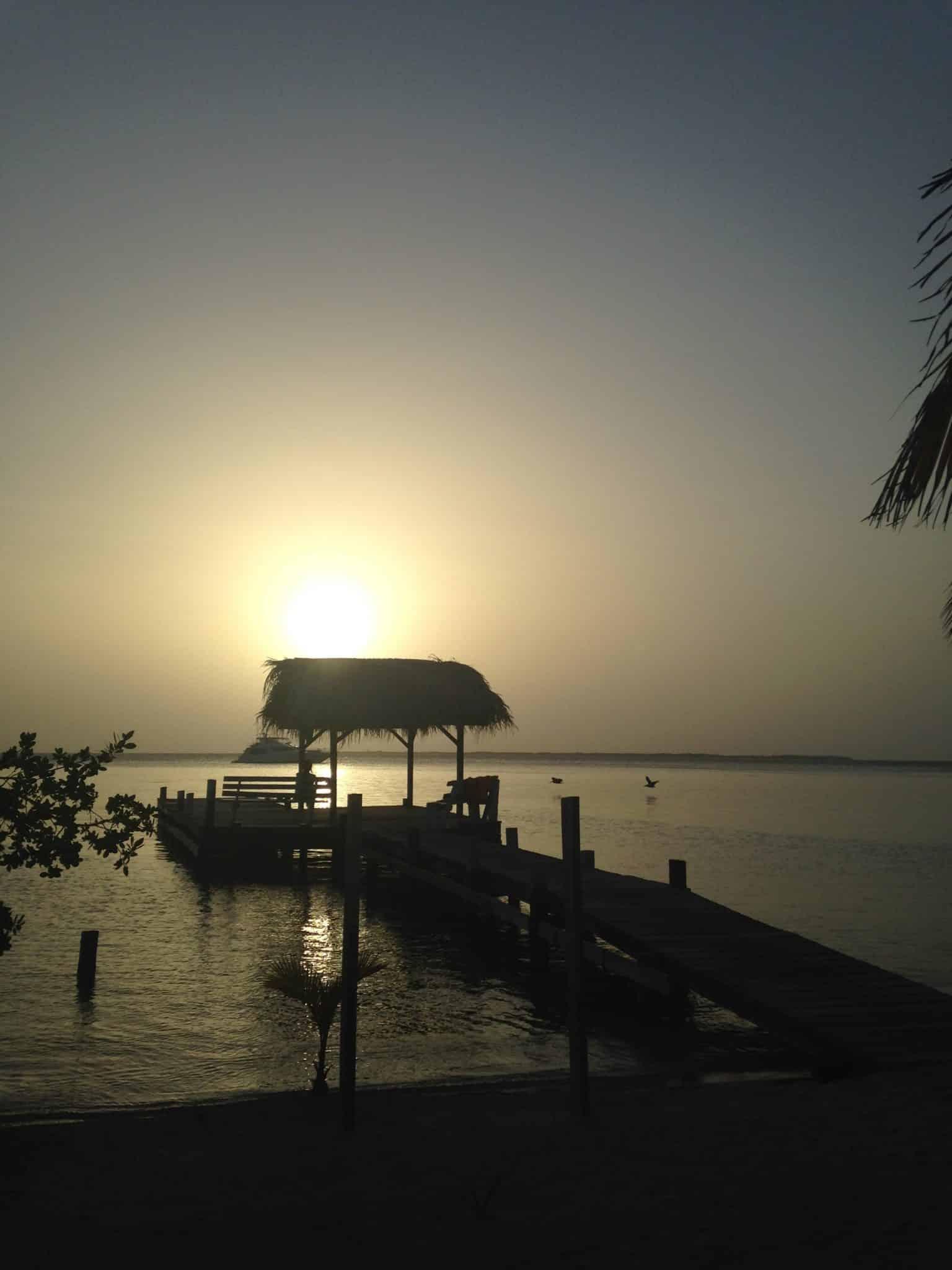 belize-sunset