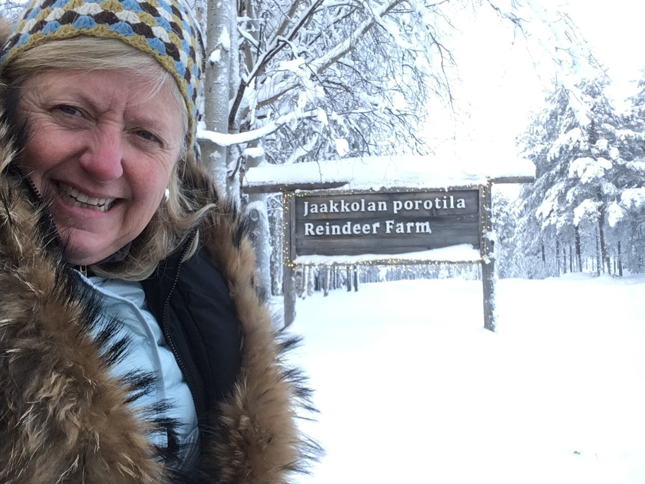lapland-melanie-at-reindeer-farm
