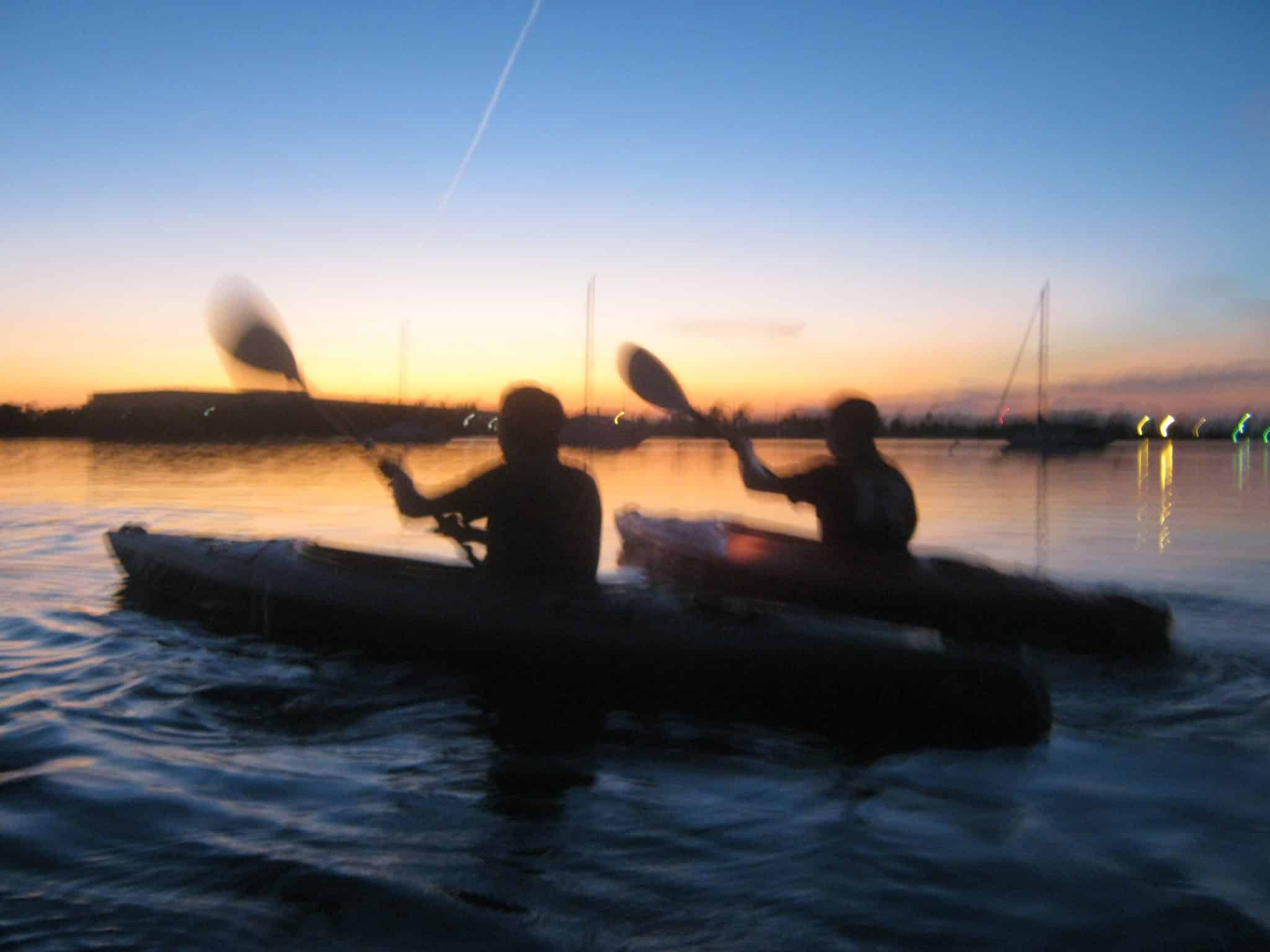 melanie-ceo-rare-finds-travel-sunset-kayak-blue-planet-key-west