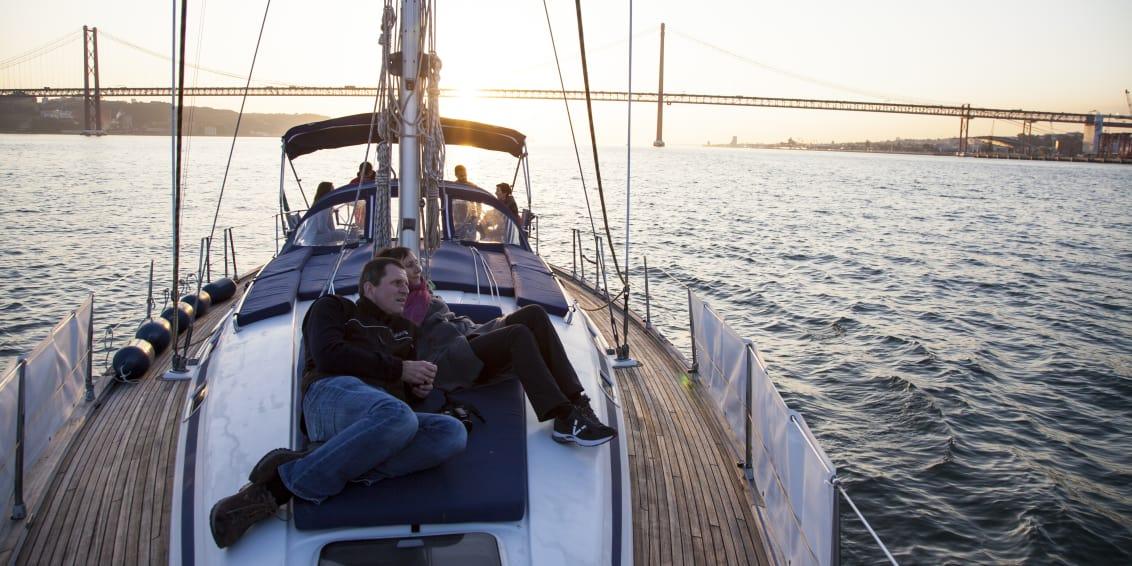 portugal-lisbon-sailing-at-sunset